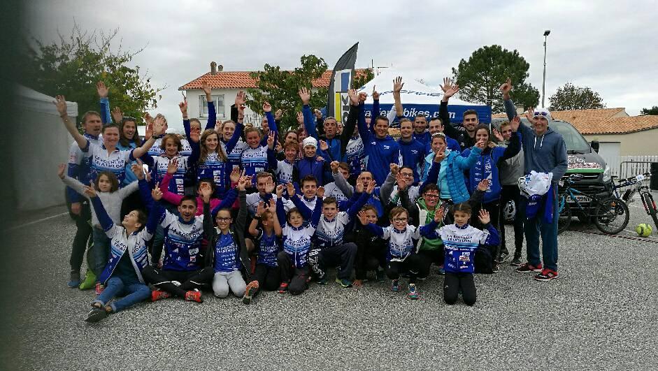 La Rochelle Triathlon avec le partenaire Cycles Mazerolles
