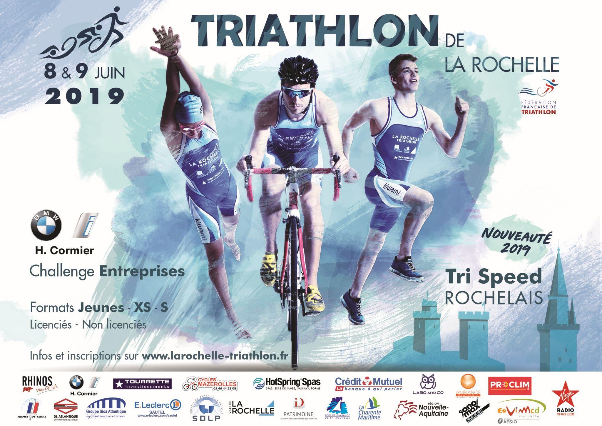 Triathlon Calendrier 2020.Triathlon De La Rochelle 2019 La Rochelle Triathlon